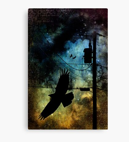 the last love of icarus Canvas Print