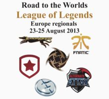 League of Legends Worlds Europe regionals LOL by sonofnesbit