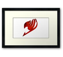 Fairy Tail Guild Logo Framed Print