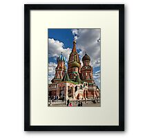 St. Basil's Russian Orthodox Cathedral Framed Print