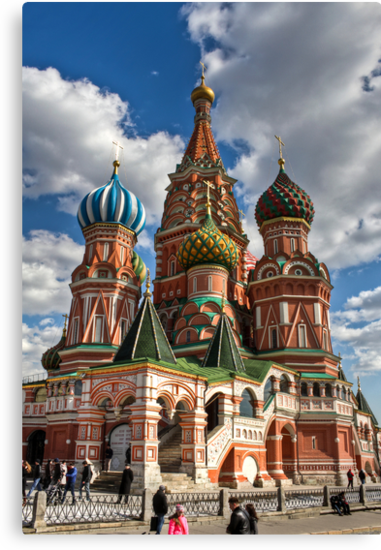 St. Basil's Russian Orthodox Cathedral by pixog
