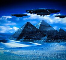 Ancient Aliens by Raphael Terra by esotericaart