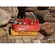 Coca Cola Americana Photographic Print