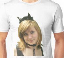 A CATGIRL'S FACE Unisex T-Shirt