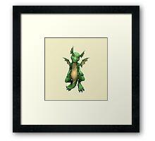 Cute Dragon Framed Print