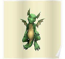 Cute Dragon Poster