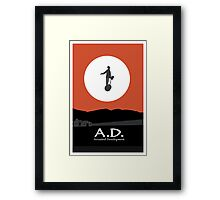 Arrested Development, Segway Illustration Framed Print