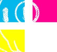 Live & In Color Sticker