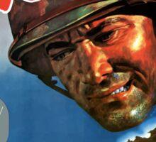 Next! 6th War Loan -- World War Two Sticker