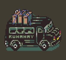 Runaway 5 (Tonzura Brothers) Bus - Earthbound by Studio Momo╰༼ ಠ益ಠ ༽