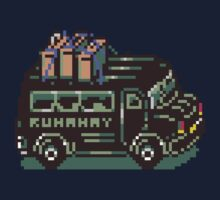Runaway 5 (Tonzura Brothers) Bus - Earthbound Kids Tee