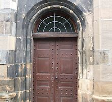 Door To The Gatekeeper's Lodge, The Necropolis, Glasgow by MagsWilliamson