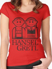 Hansel & Gretl Women's Fitted Scoop T-Shirt
