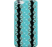 seamless pattern with tree, birds and butterfly iPhone Case/Skin