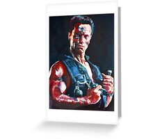 Commando Greeting Card
