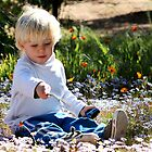 Gabriel amongst the daisies by fourthangel