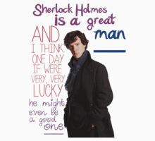 BBC Sherlock: Lestrade Quote. by Katie Bloom