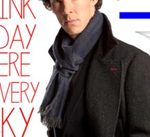 BBC Sherlock: Lestrade Quote. Sticker