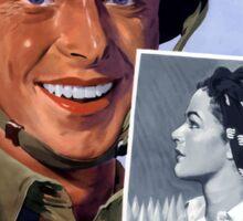 My Girl's A WOW! Woman Ordnance Worker -- WWII Sticker