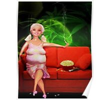 Over The Hill Barbie Poster