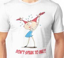 Crazy Girl Goes Ballistic Unisex T-Shirt