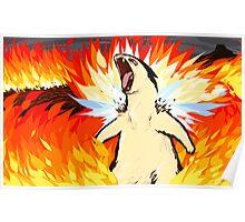 Typhlosion | Blast Burn Poster