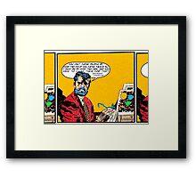 Raymond Chandler Framed Print