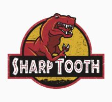 Sharp Tooth T-Shirt (Land Before Time - Jurassic Park) by Tabner