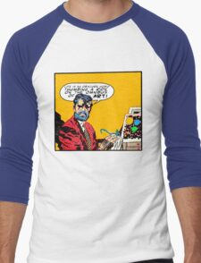 Omnibus of Art Men's Baseball ¾ T-Shirt