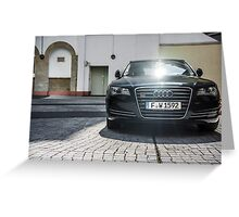 Audi A8 Greeting Card