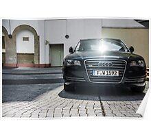 Audi A8 Poster