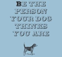 Be the Person - Beagle Kids Tee