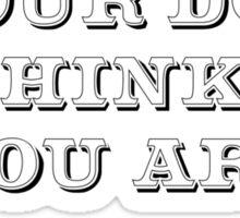 Be the Person - Beagle Sticker