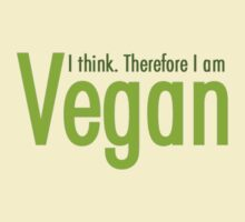 I Think Therefore I am Vegan by MarioGirl64