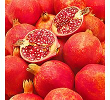 Pomegranate Red Photographic Print