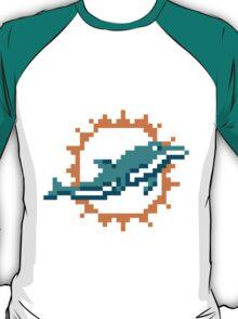 8Bit Miami Dolphins 3nigma T-Shirt