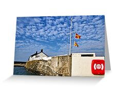 Cobb Buildings ~ Lyme Regis Greeting Card