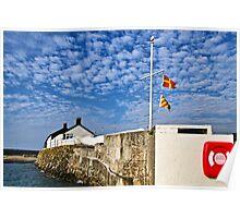 Cobb Buildings ~ Lyme Regis Poster