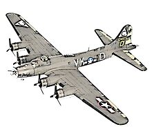 Boeing B-17 Flying Fortress by surgedesigns