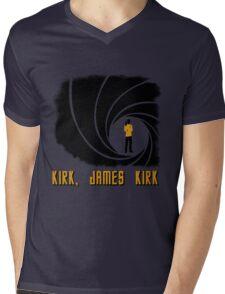 Kirk, James Kirk Mens V-Neck T-Shirt