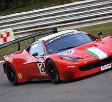 Ferrari 458 GT3 - Cameron and Griffin by Matt Dean