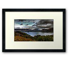 Lake District Landscape Framed Print