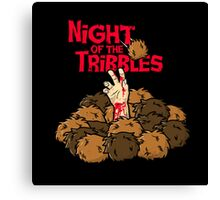 Night of the Tribbles Canvas Print