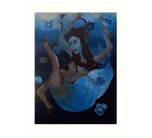 St. Fevronia IV: Falling/Floating Art Print