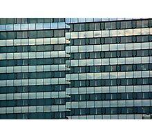 Urban Pattern (Color) Photographic Print