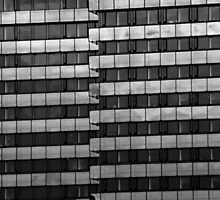 Urban Pattern (B&W) by Alex Boros