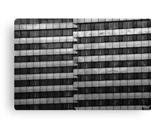 Urban Pattern (B&W) Canvas Print