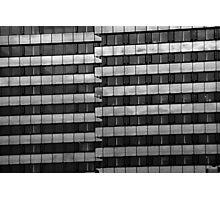 Urban Pattern (B&W) Photographic Print