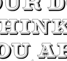 Be the Person - Cocker Spaniel Sticker