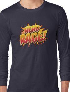 NERD RAGE! Long Sleeve T-Shirt